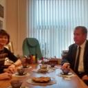Dr. Sara Zimmerman and Dr. Barbara Howard meet with Russian officials