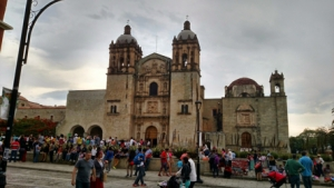 Old church in Mexico