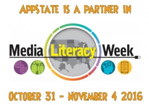 Media Literacy Week (October 31 - November 4, 2016) logo