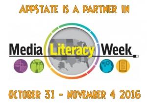 Media Literacy Week (October 31 - November 4, 2016) logo